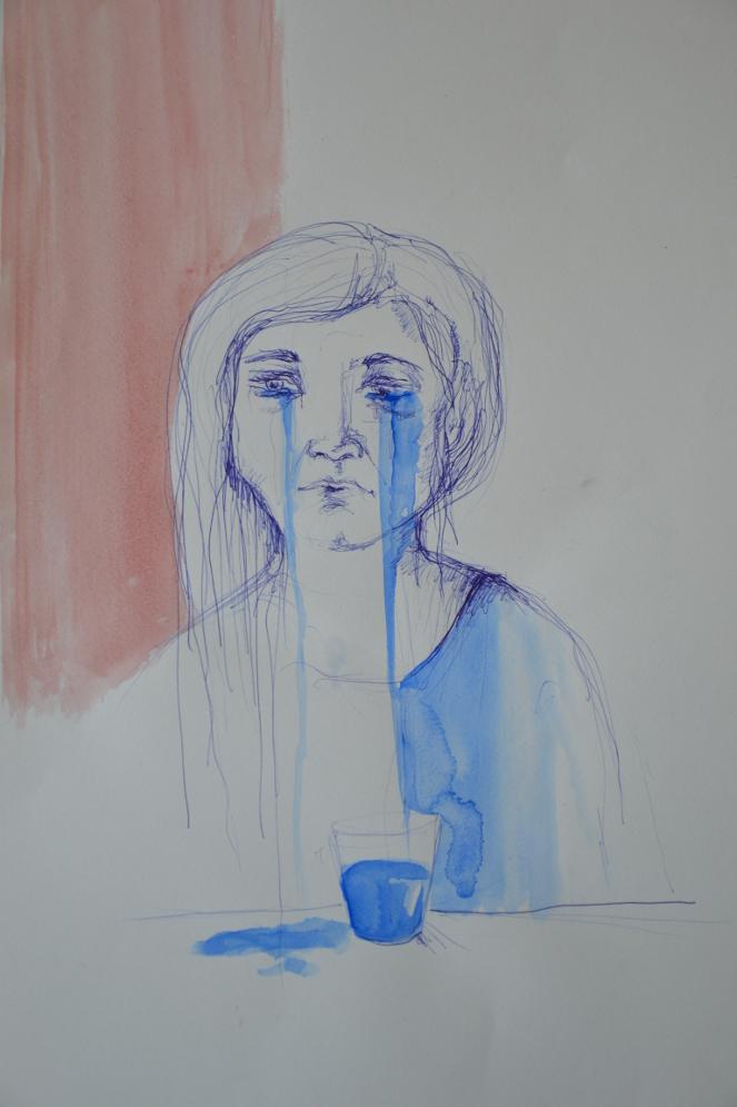 tränen ins glas